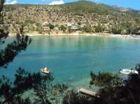 gloful Aliki din Thassos Grecia