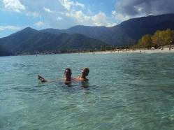 Golden Beach, plaja cu nisip fin din Grecia