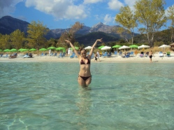 Golden Beach plaje Thassos