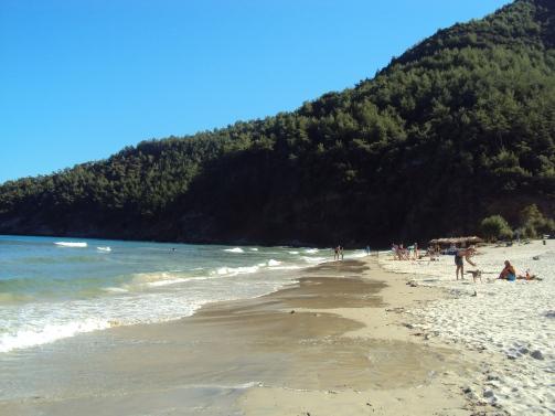 Paradise Beach plaje Thassos, un mic paradis din Grecia