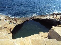 Giola, piscina naturala din Thassos