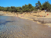Salonikios Beach thassos am fost acolo plaje