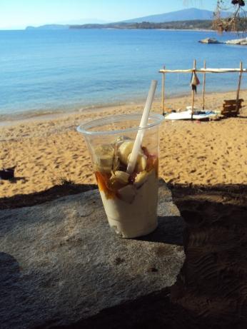 Salonikios Beach - cea mai frumoasa, linistita si curata plaja din Thassos