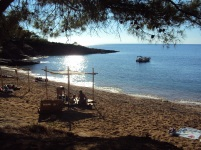 Salonikios Beach, top plaje din Thassos