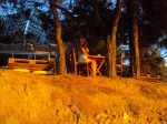 apus la Salonikios Beach