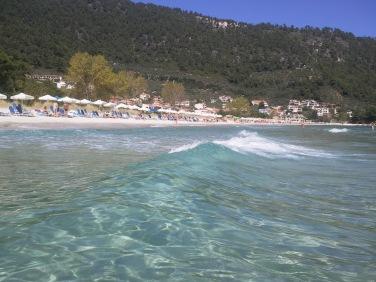 Golden Beach, plaja cu nisip fin Thassos