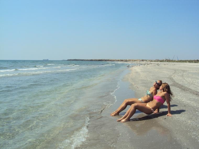 plaja pustie Corbu
