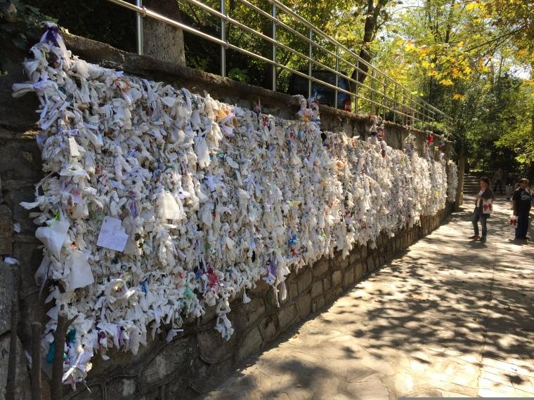 peretele dorințelor Efes