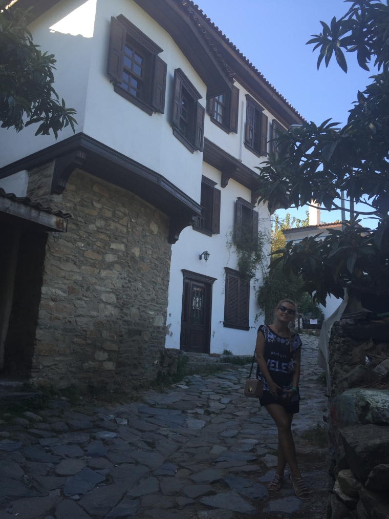 casa pitorească în satul Sirince din Turcia