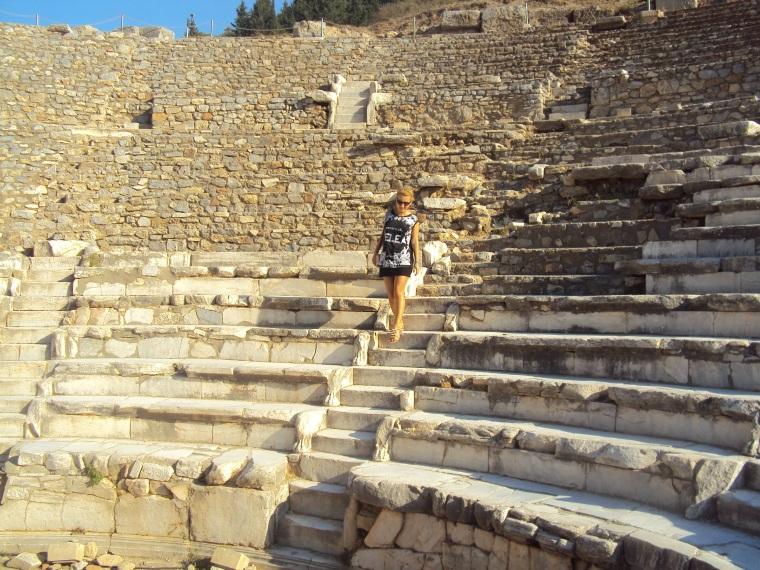 odeonul ce sa vizitezi in Efes