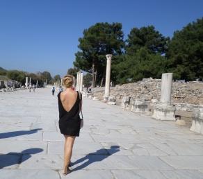Efes cel mai frumos oras roman din Turcia