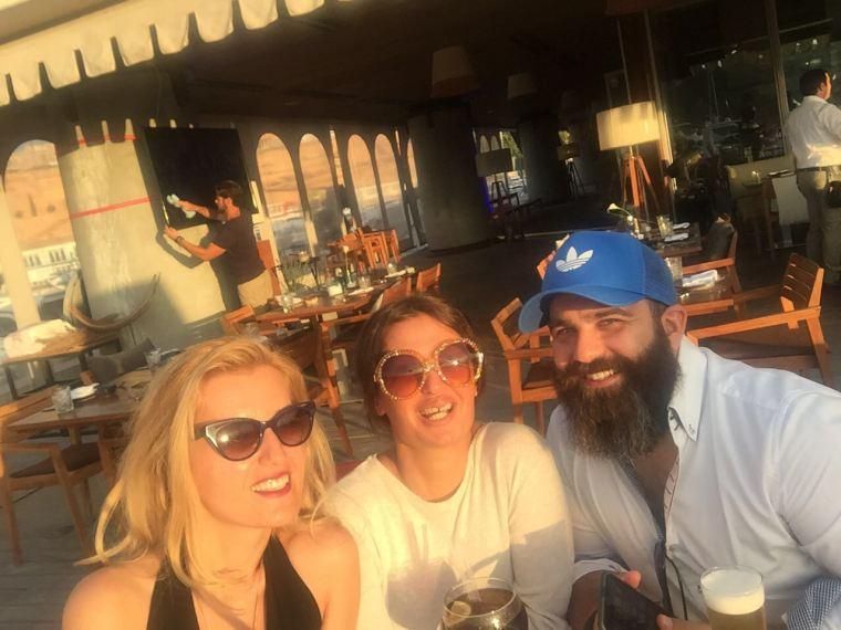 Amigos en Port Adriano