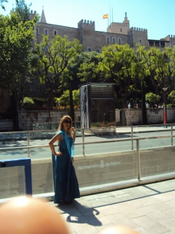 in fata Catedralei Seu din Palma de Mallorca