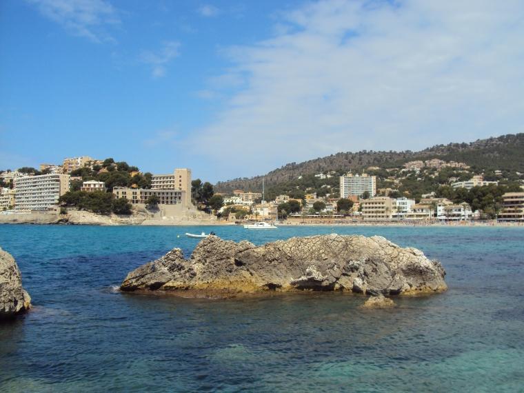 Peguera - statiunea preferata de nemti din Palma de Mallorca