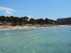Paguera - una dintre cele mai frumoase plaje din Palma de Mallorca