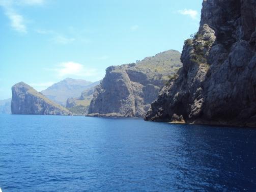 croazeiera spre Sa Calobra cea ,mai spectaculoase plaja din Mallorca