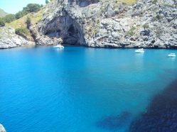 Sa Calobra blue water