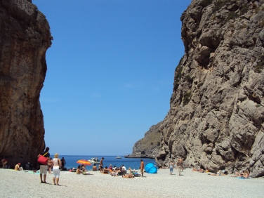 una dindtre cele mai faimoase plaje din Mallorca