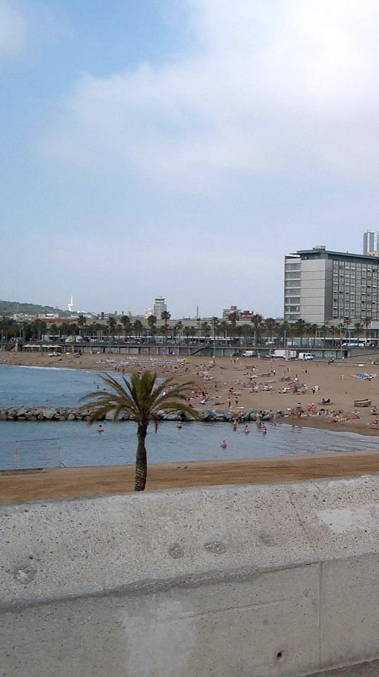 cea mai frumoasa plaja din Barcelona