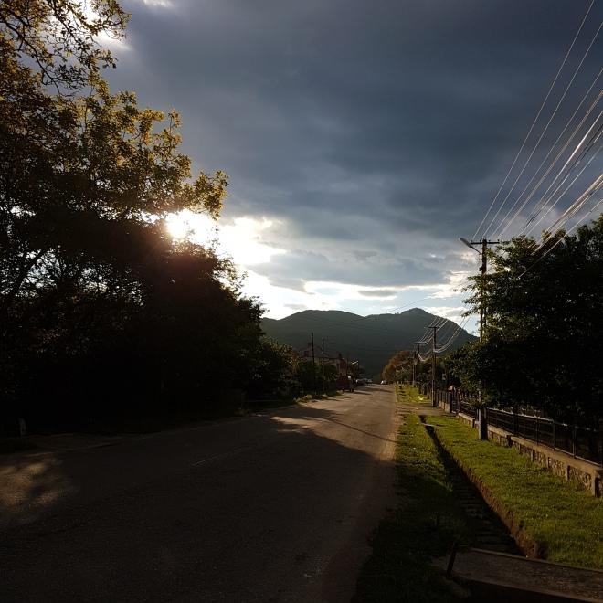 drumul din Corbi