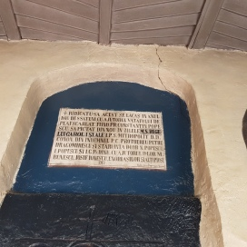 frontiscipiu biserica Stanesti Crobi