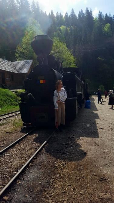 locomotiva cu aburi mocanita