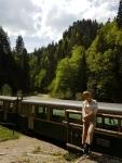 plimbare cu mocanita pe Valea Vaserului