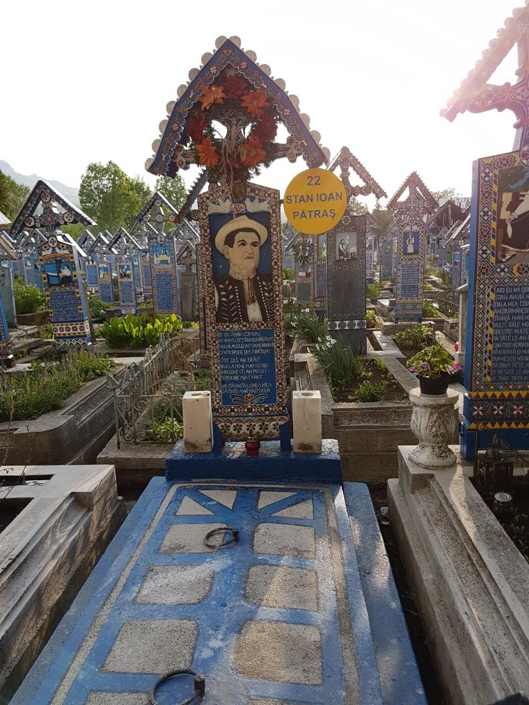 Stan Ioan Patras fondatorul Cimitirului Vesel