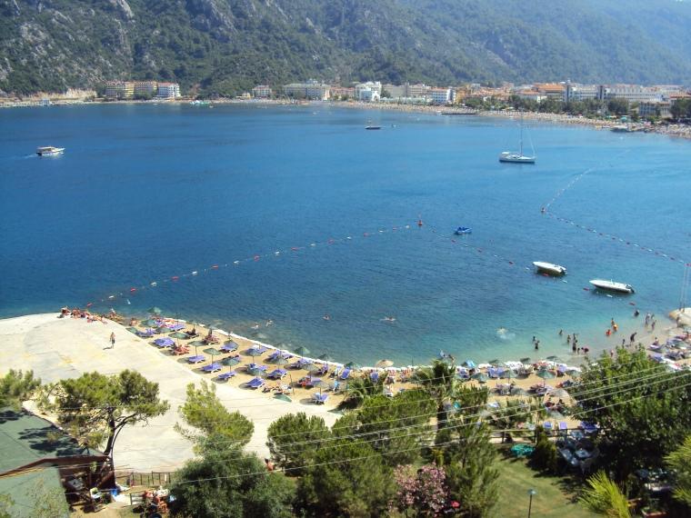 cea mai frumoasa plaja din Turcia, resorturi marmaris