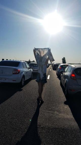 ambuteiaj pe autostrada soarelui