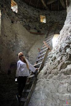 interiorul castului Sükösd-Bethlen