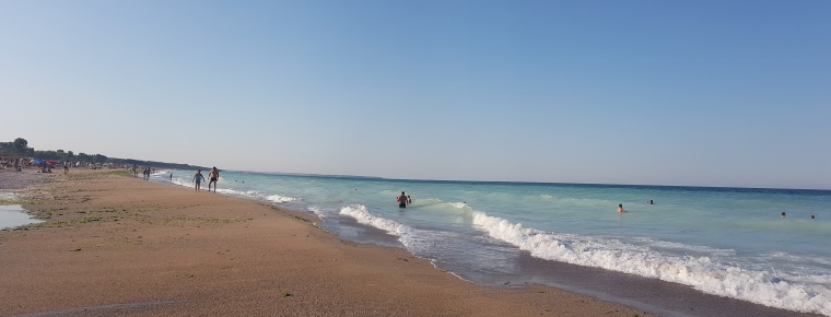 plaja cu nisip fin Bulgaria