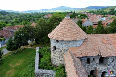 turnul castelului Sükösd-Bethlen