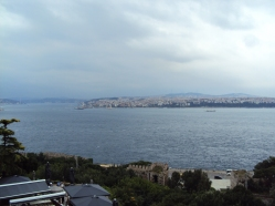 marea privita de la Palatul Topaki
