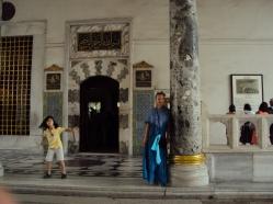 marmura in Palatul Topakai