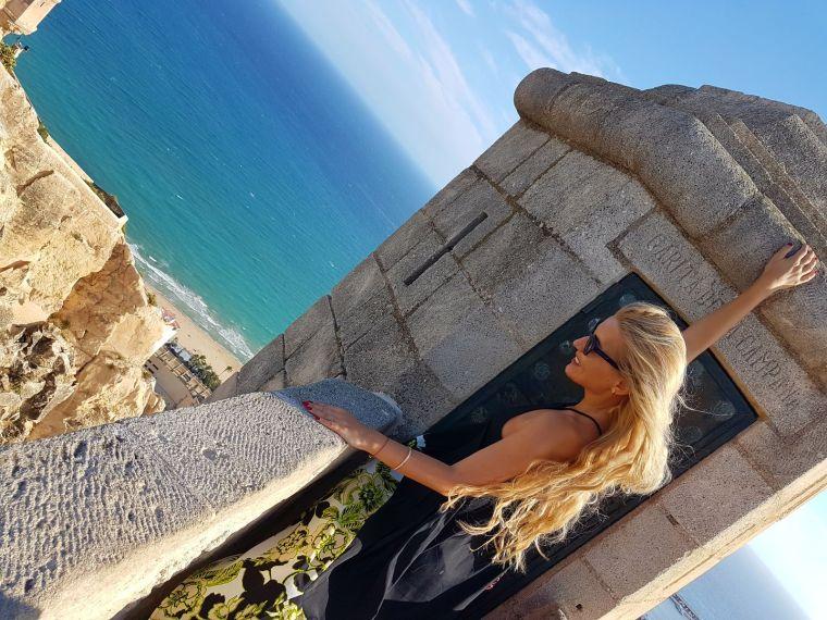 cel ami frumos castel de vizitat din Spania Alicante