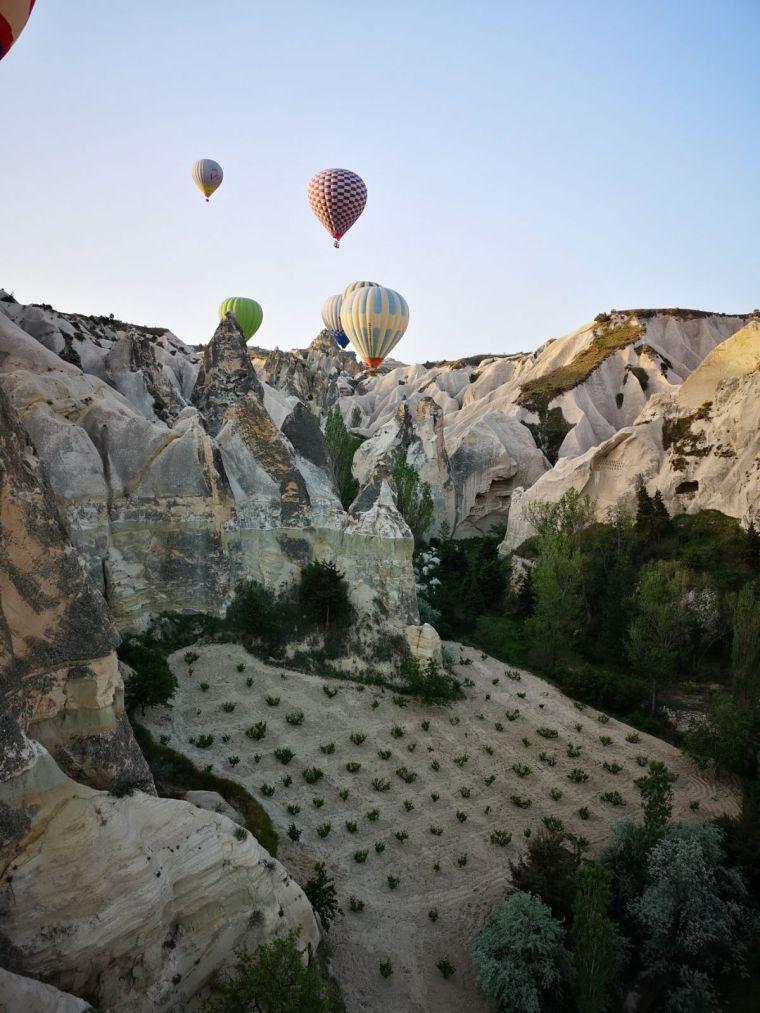 experienta unica in Cappadocia zbor cu balonul