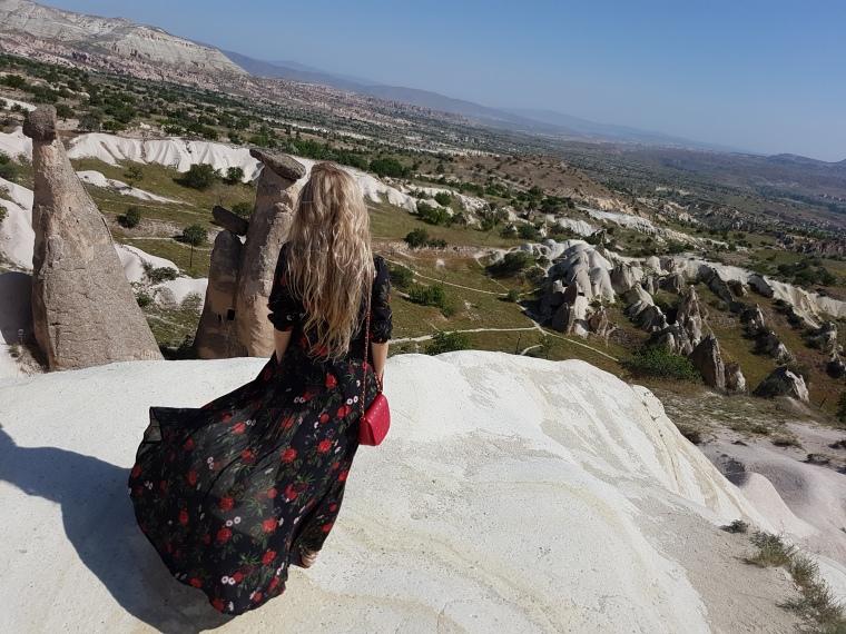 coloane de tuf Cappadocia