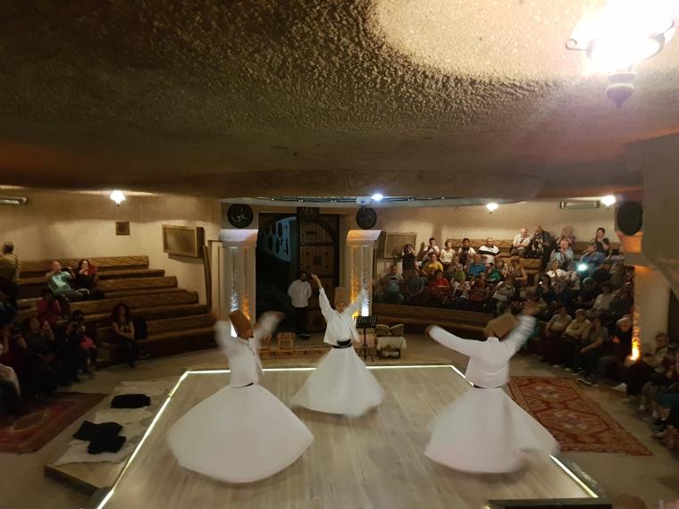 dansul dervisilor Cappadocia