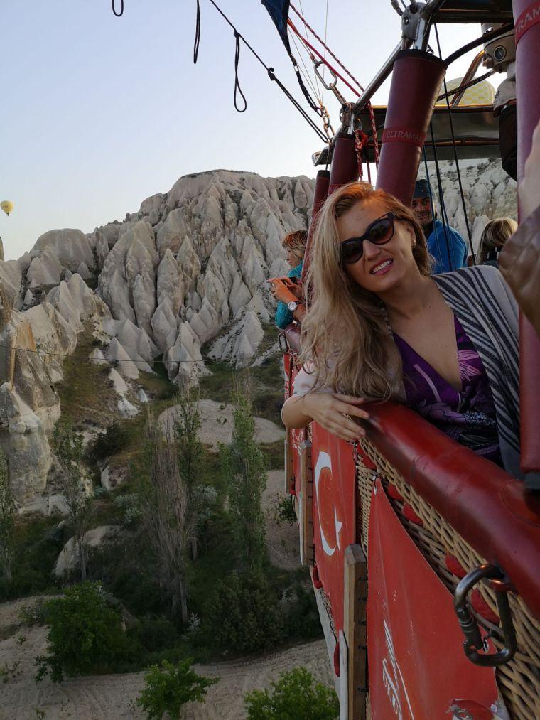 ce sa faci in Cappadocia, zborul cu balonul dureaza 1 ora
