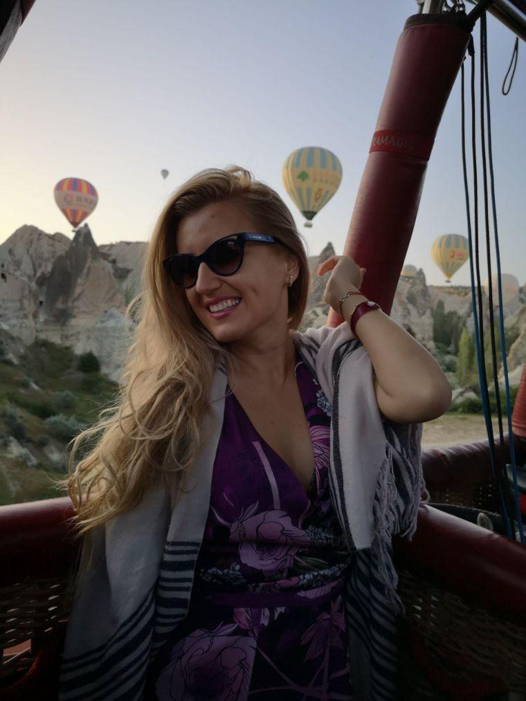 cea mai frumoasa experienta in Turcia, zborul cu balonul