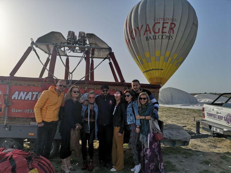 Pilot Caner cel mai bun pilot de zbor cu balonul cu aer cald in Cappadocia