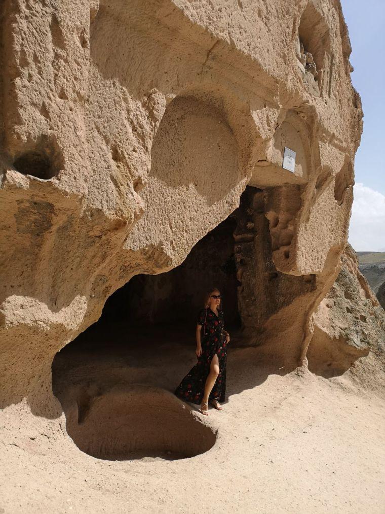 cele mai frumoase formatiuni calcaroase din Cappadocia