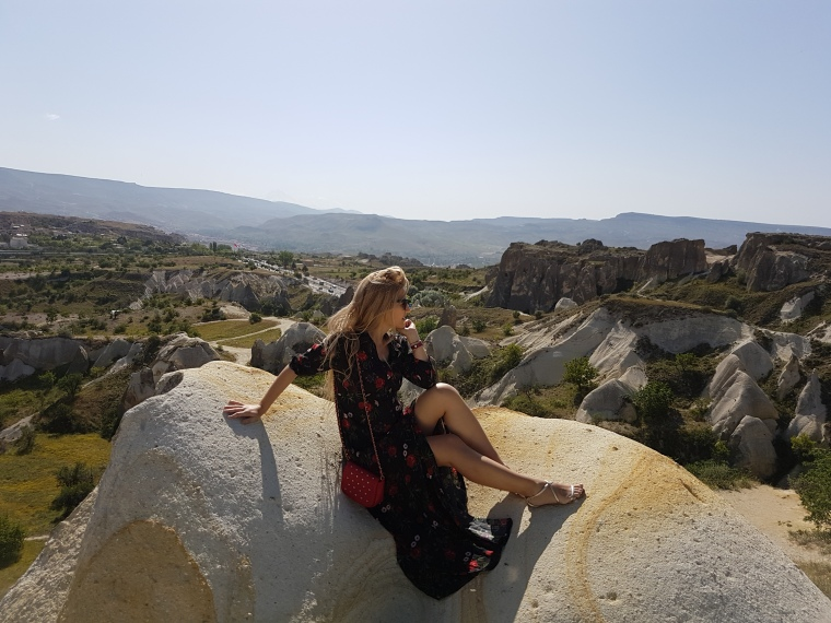 formatiuni vulcanice in Cappadocia