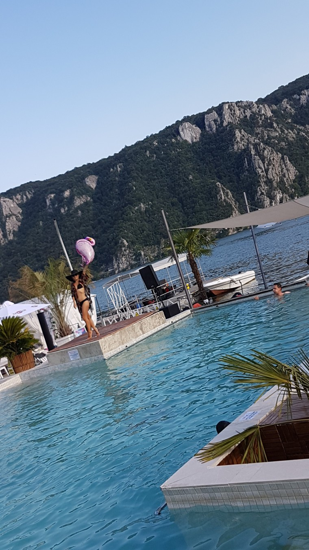 La Vella piscina la cazanele Dunarii