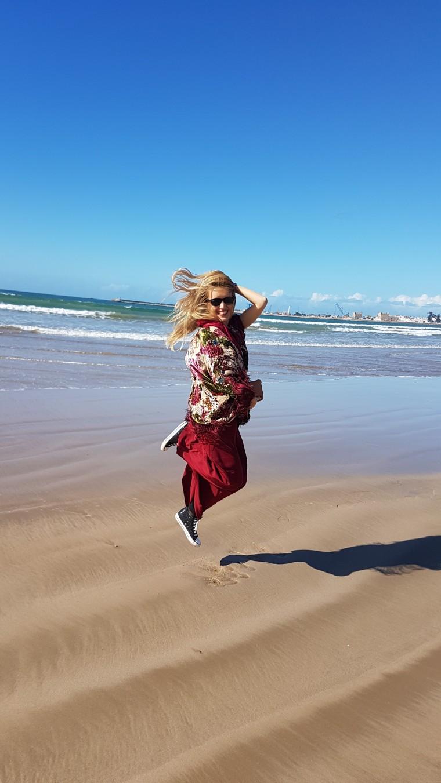 plaja in Essaouira Maroc