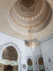 Moscheea Sheikh Zayed interior