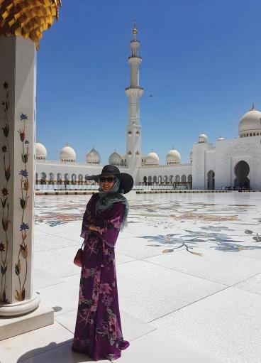 Moscheea Sheikh Zayed - minaret inalt de 107 m