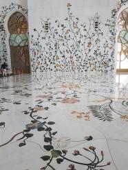 Moscheea Sheikh Zayed motive florale