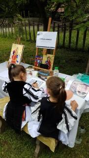 ateliere de pictura pe sticla muzeul astra sibiu